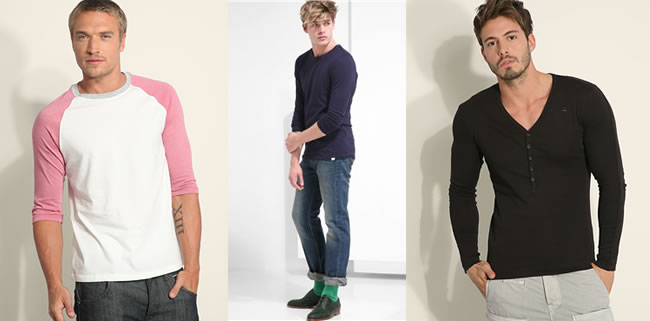 Men's Fashion Basics - Long Sleeved T-Shirts