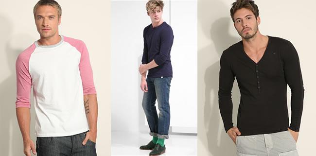 Men's Fashion Basics – Part 3 – Long Sleeved T-Shirts