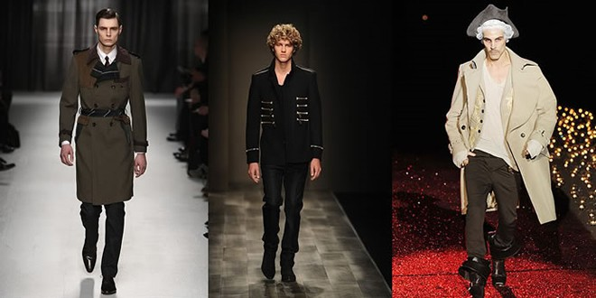 Military Trend on the catwalk