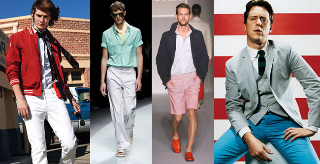 Men's Spring/Summer 2010 Fashion Trend – All American