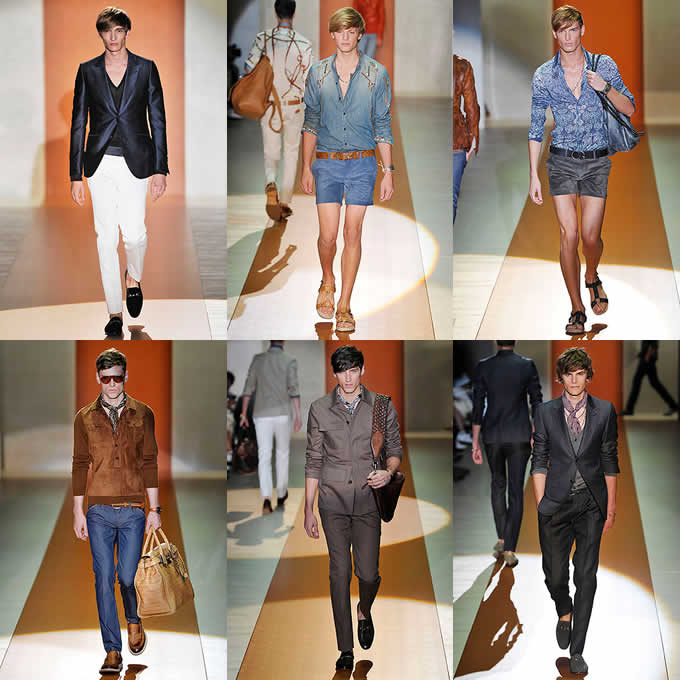 Men's Gucci S/S 2011 Catwalks