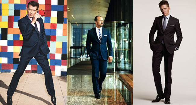 Men's Fashion Basics - Part 20 - The Navy Suit