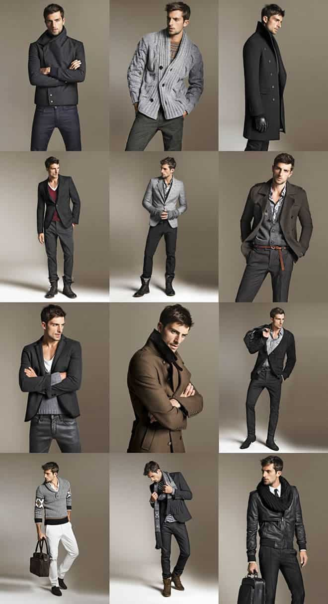 Zara Menswear A/W 10 Lookbook