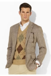 Ralph Lauren Aberdare Tweed Sport Coat