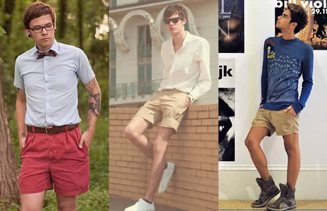 Men's Muted Shorts Look Book