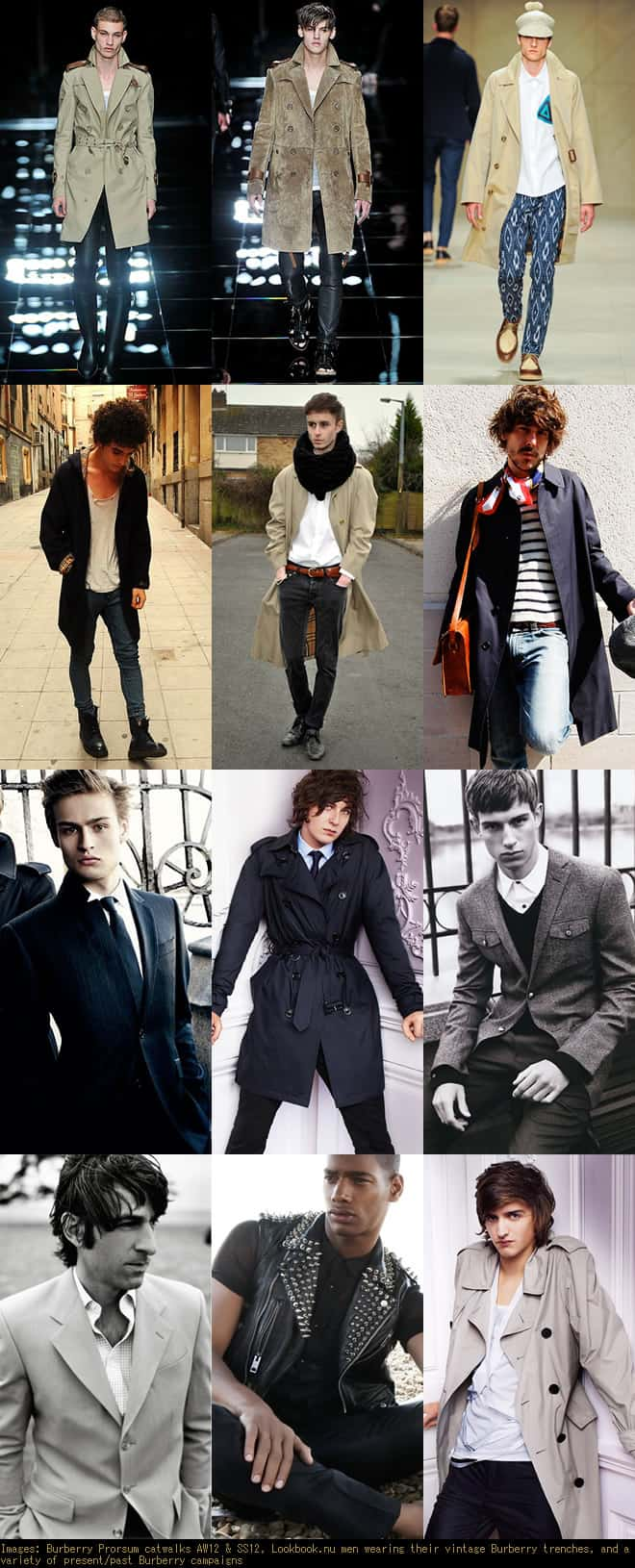 The Burberry Men's Look Book