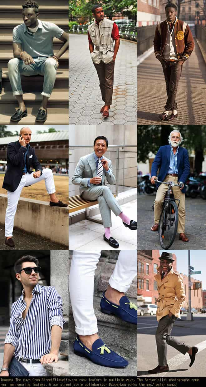 The Men's Loafers Look Book