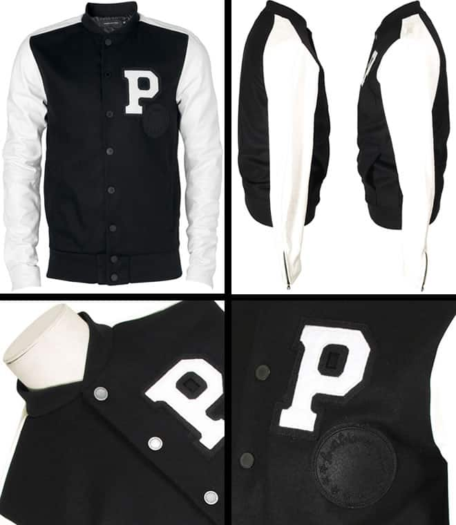 Passarella Death Squad Stadium Jacket Black & White