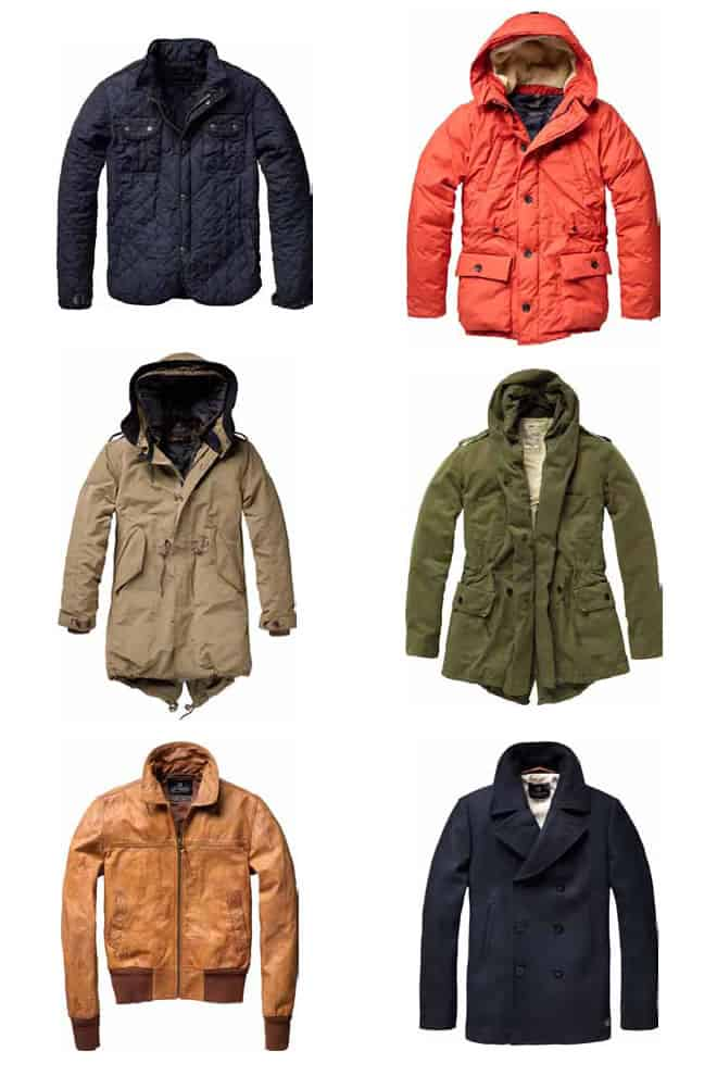 Scotch & Soda AW11 Outerwear Preview