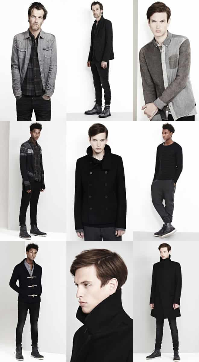 AllSaints Menswear Autumn/Winter 2011 Look Book