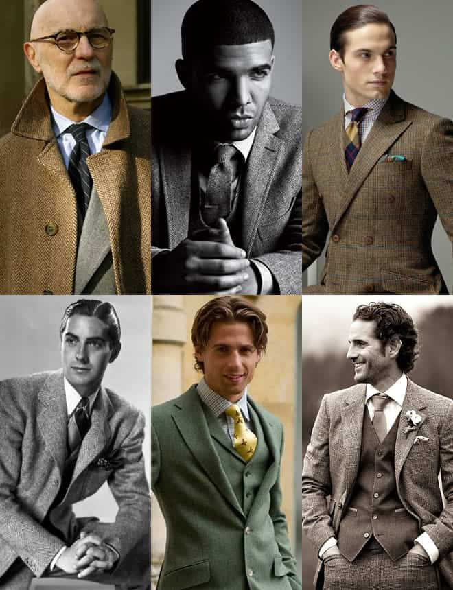 Men's Tweed Look Book
