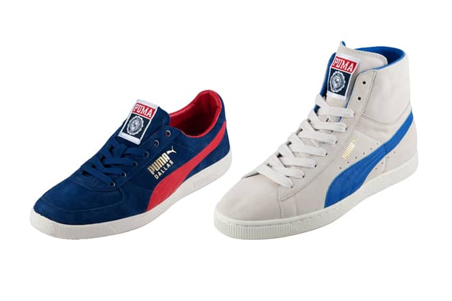 Puma X Franklin & Marshall AW 2011 Collection dallas and mid classic