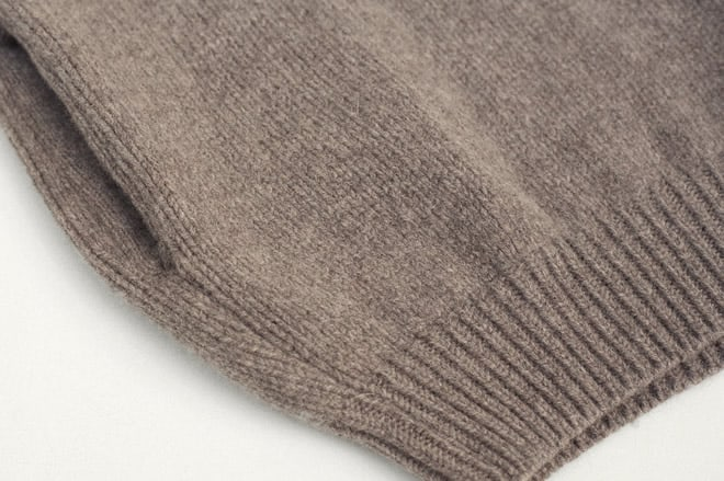 S.E.H Kelly Lambswool Rollneck Jumper pocket