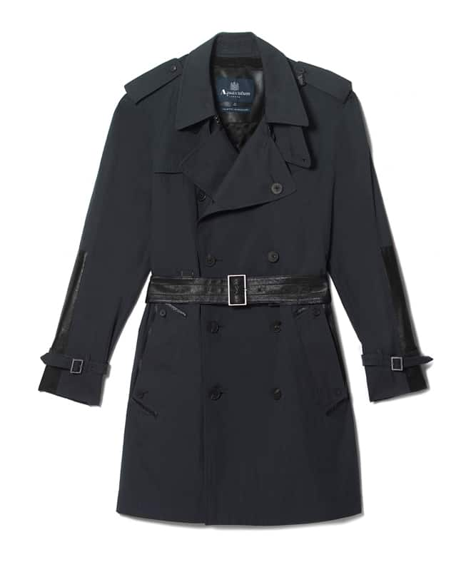 Men's Exclusive Aquascutum Trench