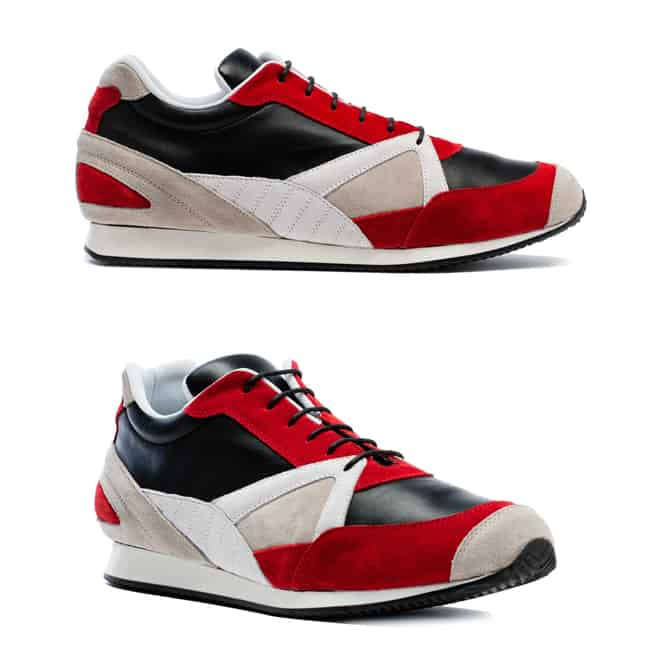 Balenciaga Fall 2011 Footwear Collection Lambskin running trainer