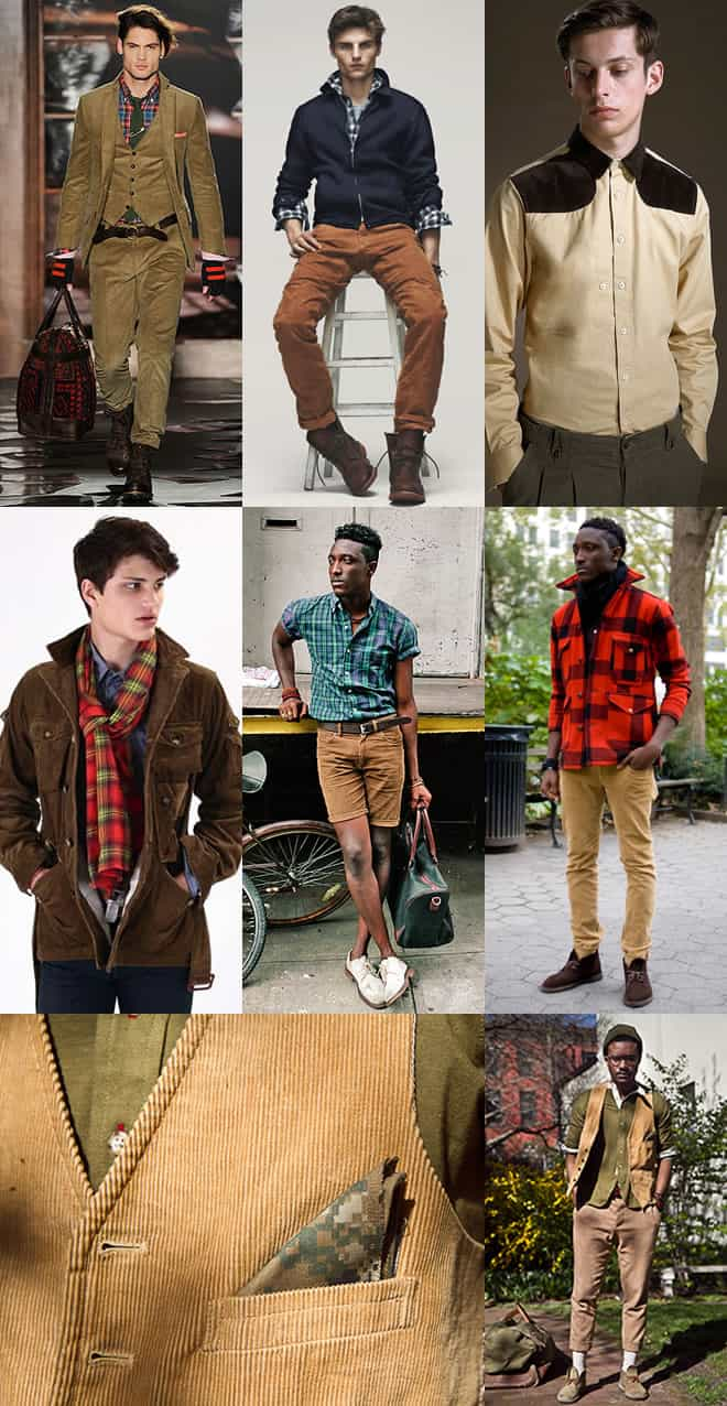 Men's Corduroy Look Book