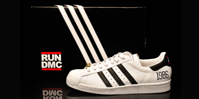Run DMC x adidas Superstar 80s Trainers