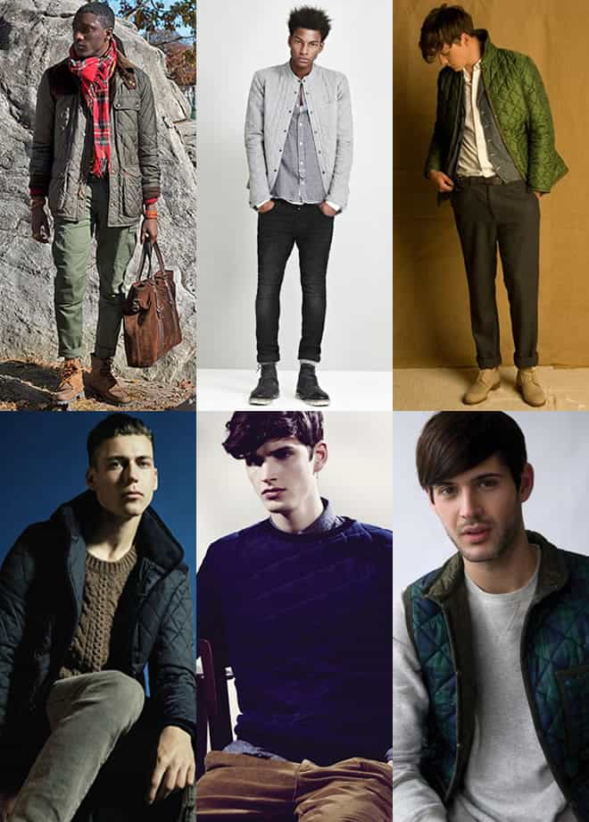 Men's Quilting Look Book