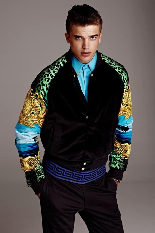 Versace for H&M Men's Lookbook