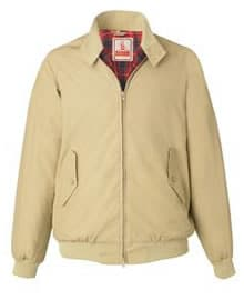 G9 Slim Fit Harrington Jacket Made In England