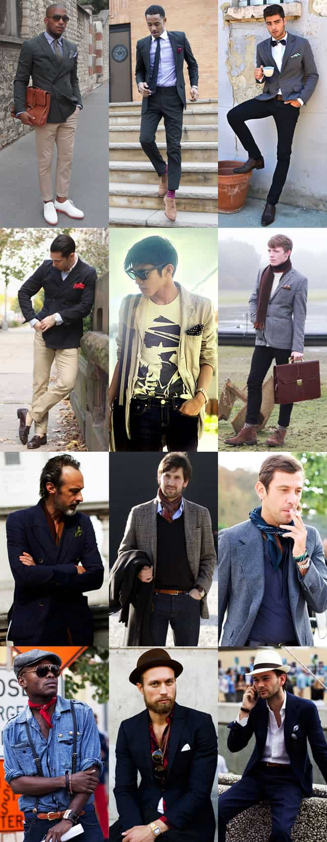 Adding Elegance through Accessories - Men's Lookbook