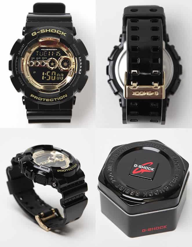 Casio G-SHOCK Colour Digital GD-100GB-1ER