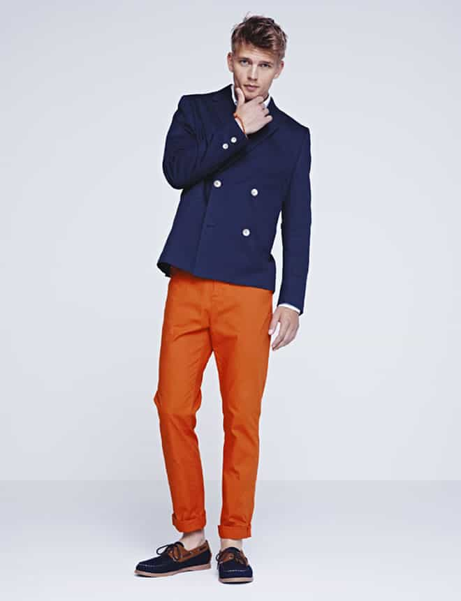 H&M Men's Spring 2012 Lookbook