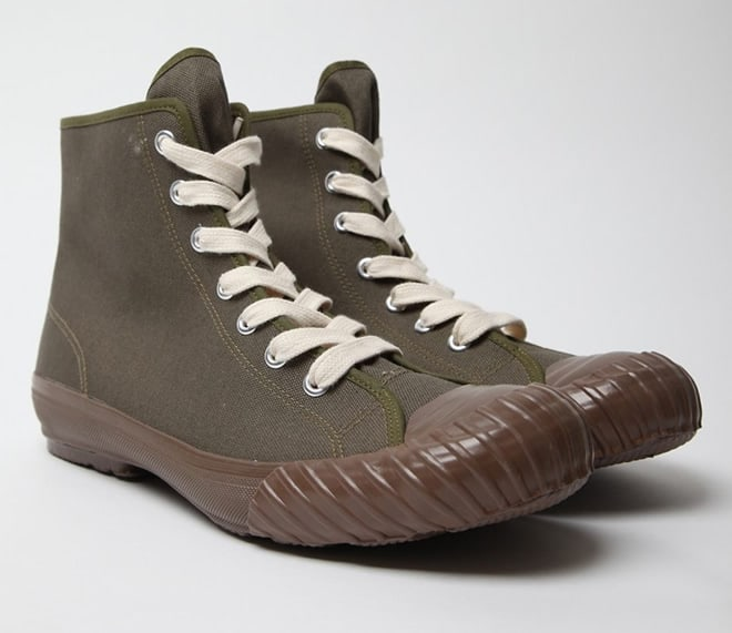 Human Made Trekking Sneakers olive