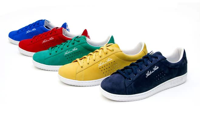 Le Coq Sportif Arthur Ashe Vintage Tennis Shoe Collection