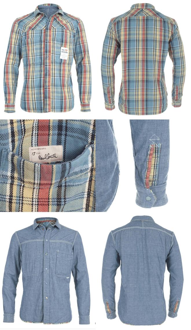 Paul Smith x Nihon Menpu Reversible Shirt