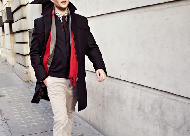 Reiss Winter Layering Lookbook