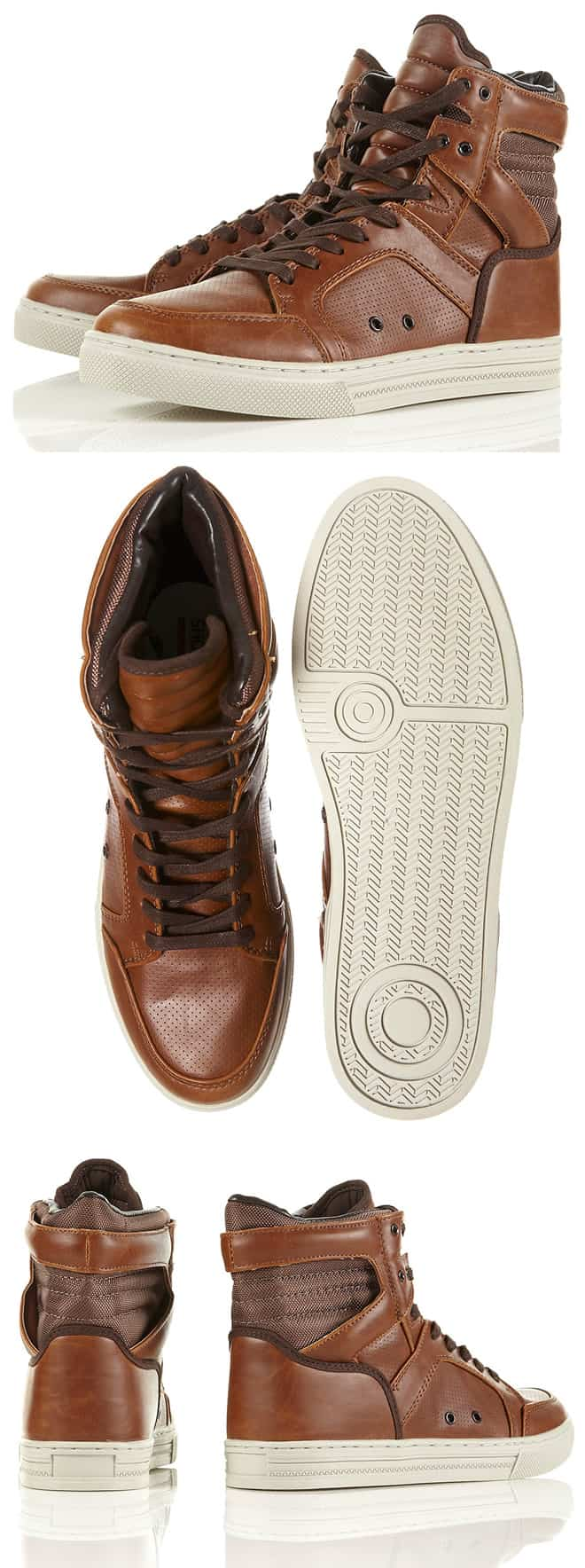 Shoelab Neptune 2basketball Brown Boots