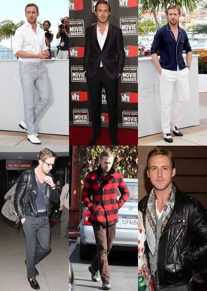 Ryan Gosling's Style - Fashion Lookbook