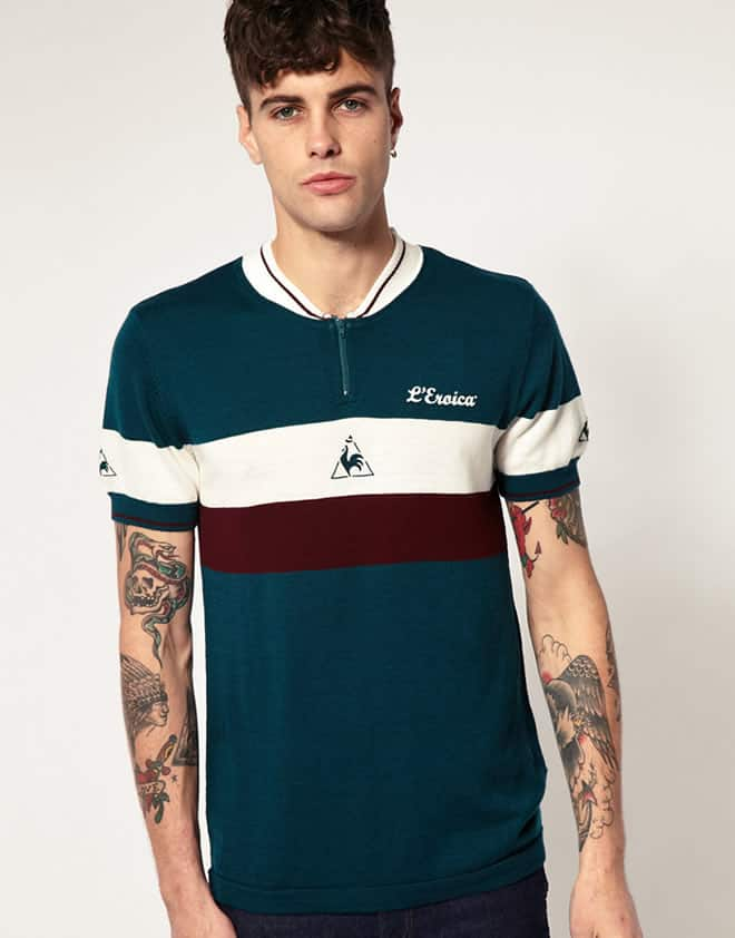 Le Coq Sportif Italy Cycling Jersey