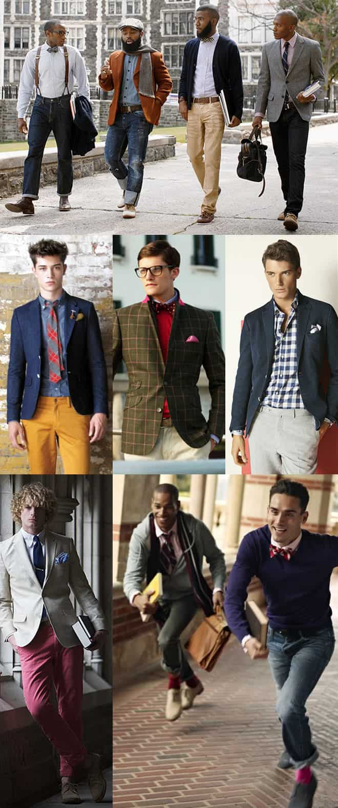 Men's American Prep Lookbook