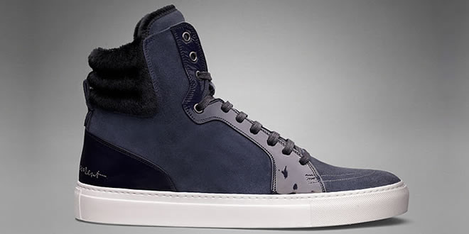 YSL Malibu Hi-Top Trainers