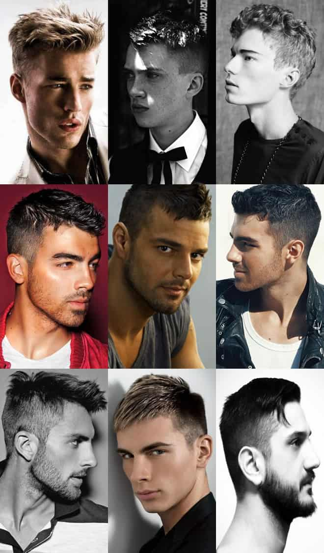 Men's Shaved Back, Sides Hairstyles Lookbook For 2012