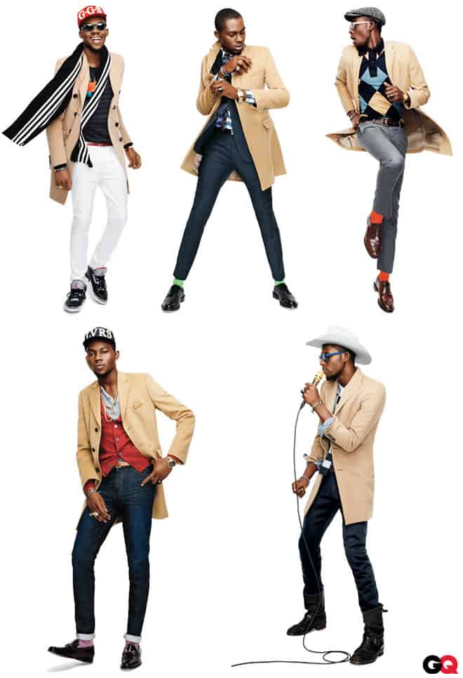 Men's Traditional Camel Overcoat Lookbook by GQ