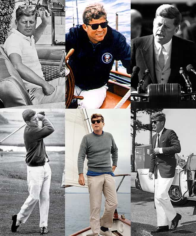 John F Kennedy Style Lookbook