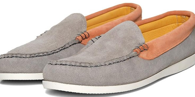 Kitsune x Quoddy Moccasin Shoe