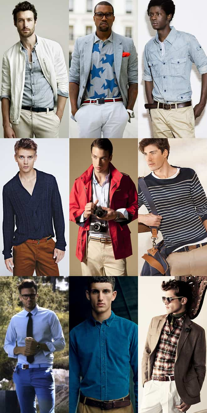 Men's Casual Belts Lookbook