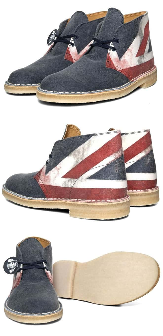The Union Jack Printed Clarks Original Desert Boot