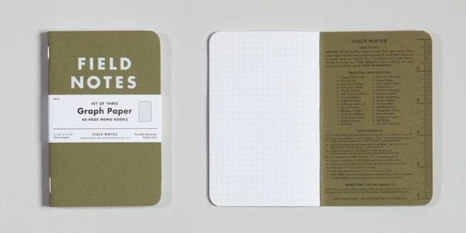 Field Notes Graph Paper Notepad