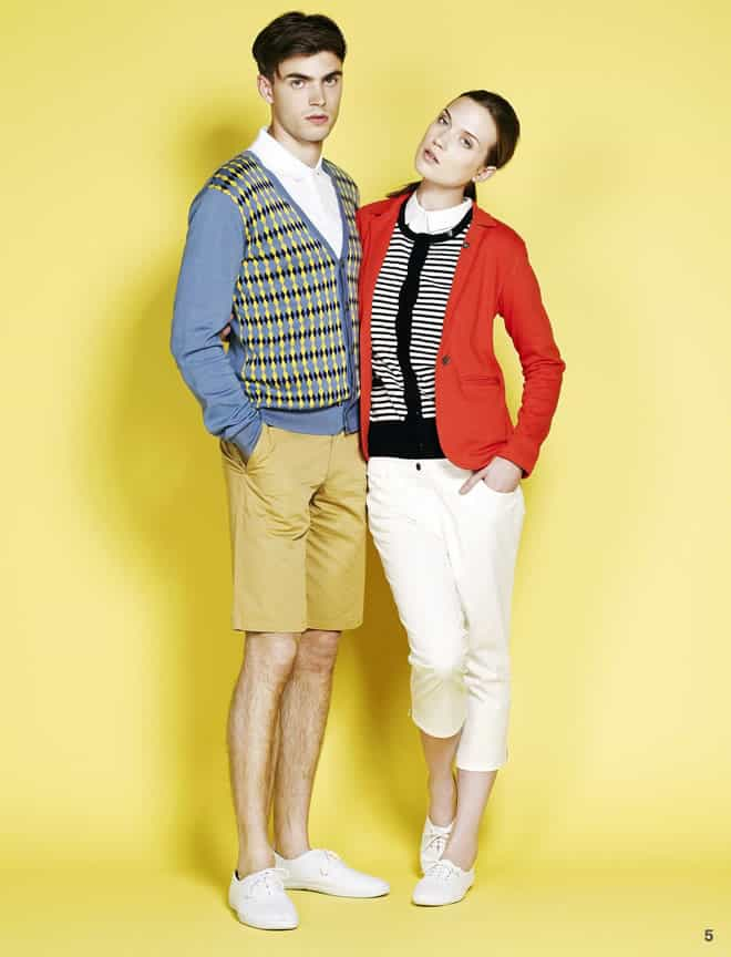 Lyle And Scott SS12 Club Collection