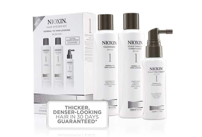 Nioxin Three Stage Treatment