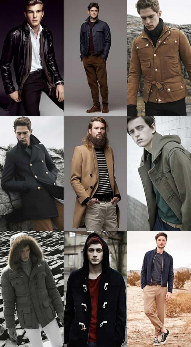 Mens Basic Outerwear Lookbook