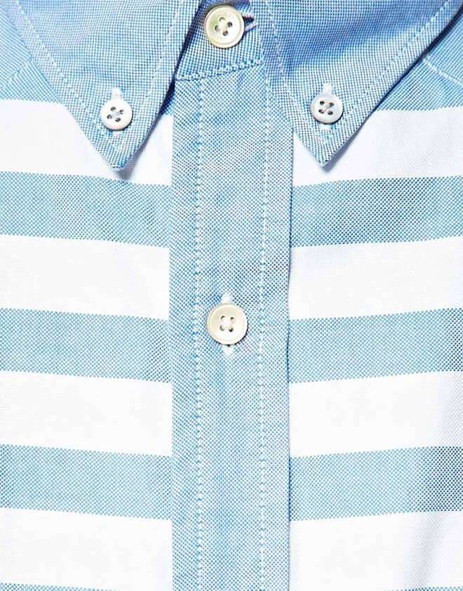 Paul Smith Jeans Classic Fit Contrast Stripe Shirt