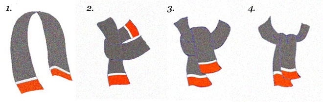 How To Tie Mens Scarfs