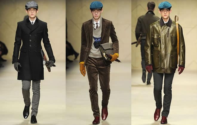 Burberry Prorsum AW12 - The Driving Cap