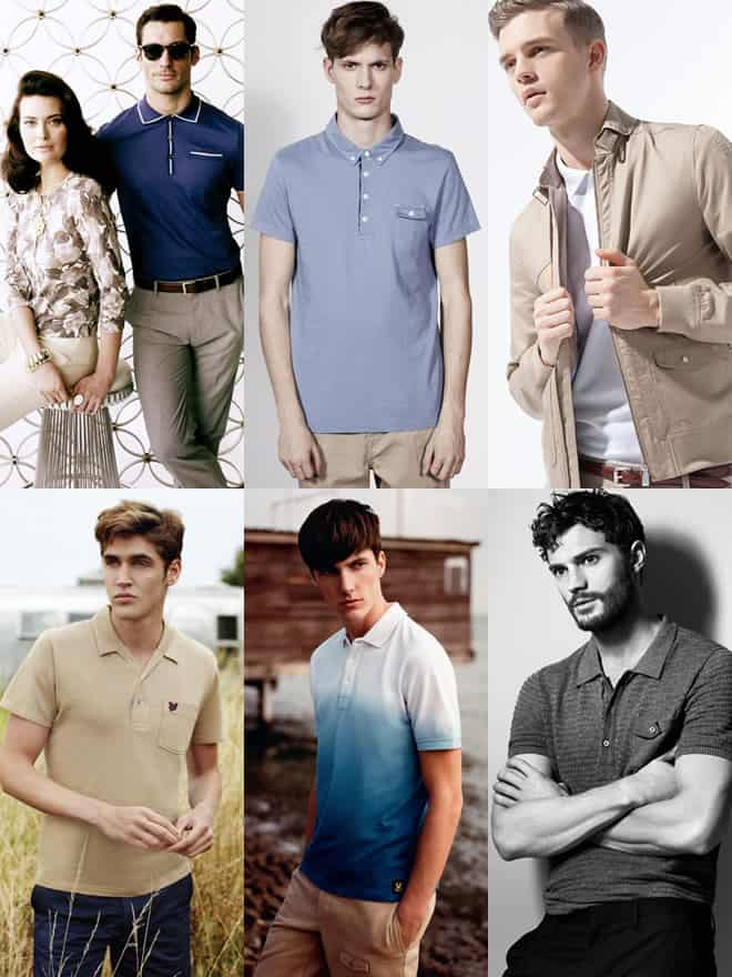 Men's Polo Shirt Lookbook